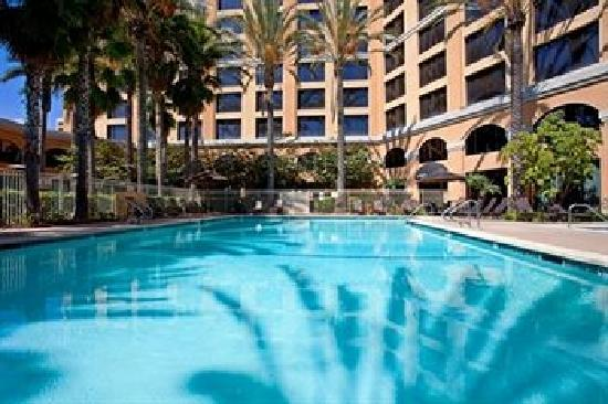 One Of Anaheim 39 S Largest Pools Picture Of Wyndham Anaheim Garden Grove Garden Grove Tripadvisor