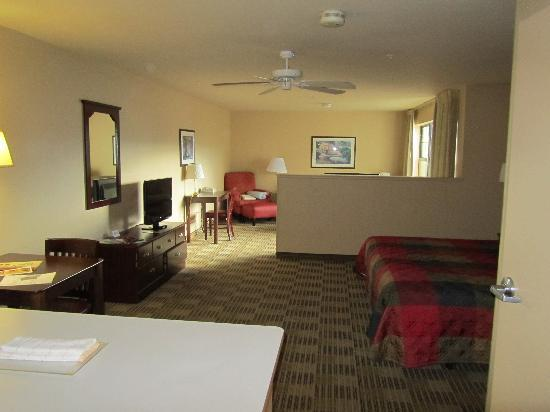 Vanity king suite picture of extended stay america colorado springs west colorado for Extended stay america one bedroom suite