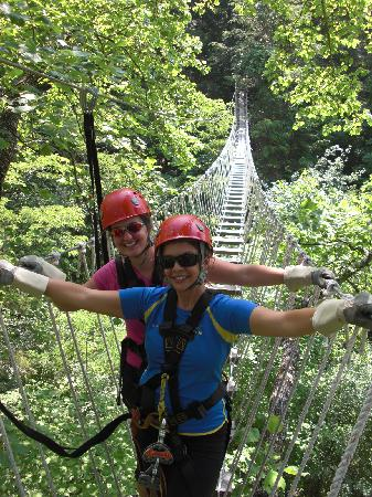 Asheville Seasons Bed and Breakfast: Ziplining Adventure
