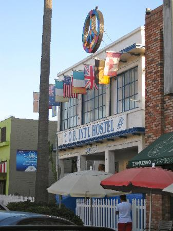 Ocean Beach International Hostel : ob front view