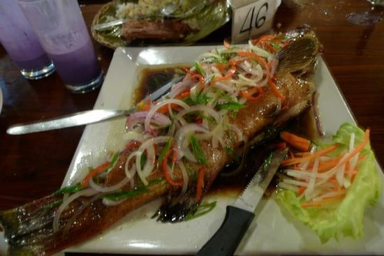 Steamed lapu lapu fish our favourite dish picture of for Island fish grill
