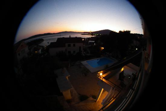 Apartments Villa Goja: Fish eye.