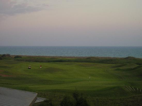 LykiaWorld & LinksGolf Antalya: view from baclony of sea&golf course