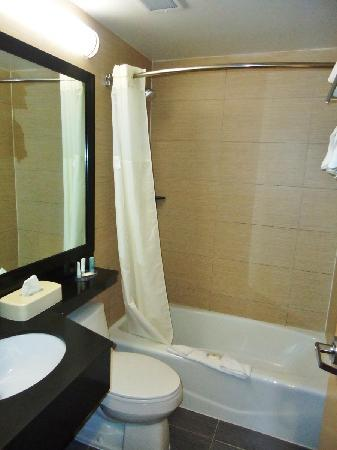 Comfort Inn Bellerose: Bathroom