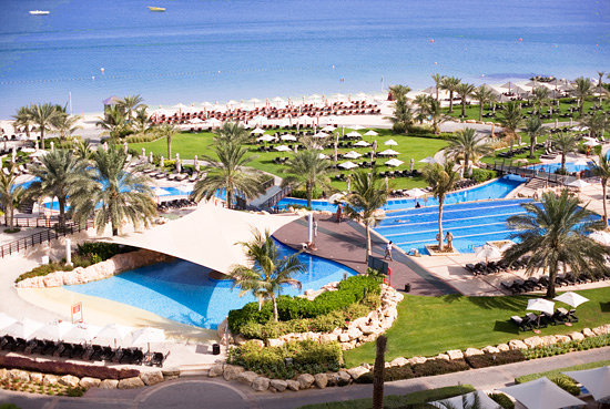 Westin Dubai Mina Seyahi Beach Resort &amp; Marina: Pools and Private Beach