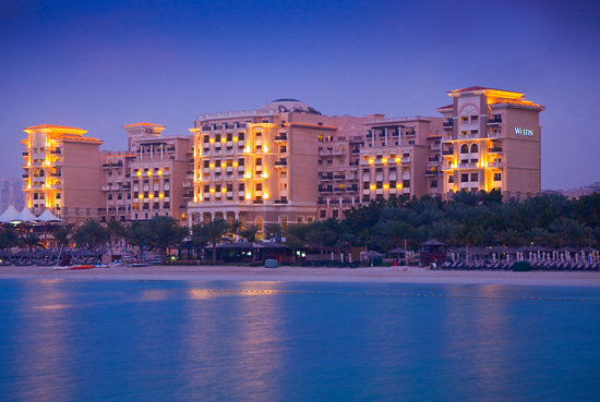 Westin Dubai Mina Seyahi Beach Resort &amp; Marina: Hotel Exterior