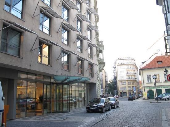 Welcome packet picture of design hotel josef prague for Design hotel jewel prague tripadvisor