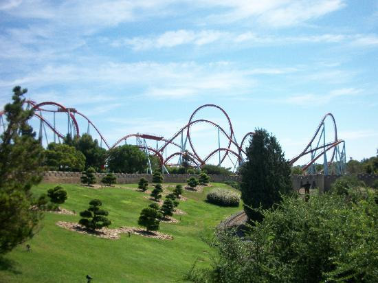 Hotel El Paso PortAventura : dragon khan 