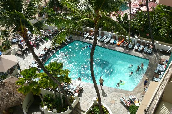 Outrigger Waikiki Beach Resort: view from room 2