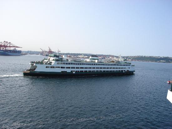 One of the Washington State Ferries
