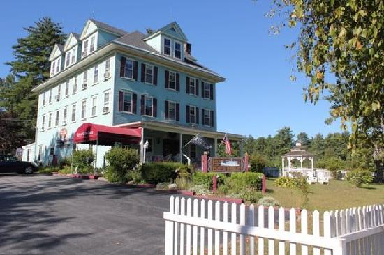 Inn at Long Lake: Our room, 2nd floor, left front corner.
