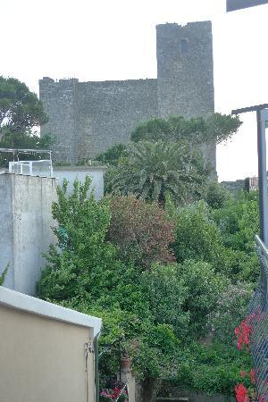 Il Telamonio: The fortress from our balcony