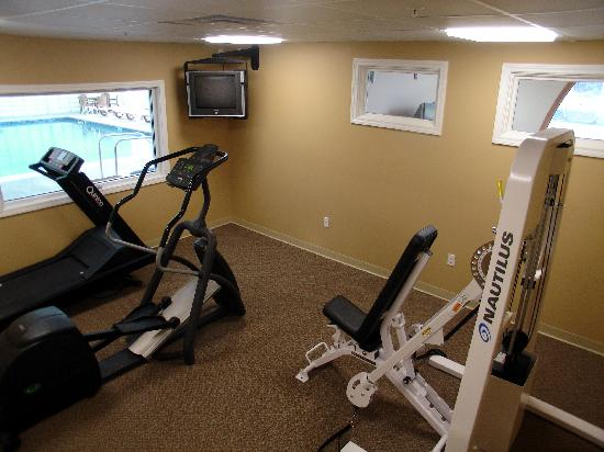 Rivergreen Resort Hotel: Fitness area