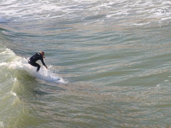 Villa Del Mar: Usaully short board days here., but only 15 to Sano