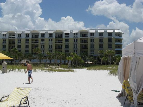 Hyatt Siesta Key Beach Resort, A Hyatt Residence Club: Blick vom Strand