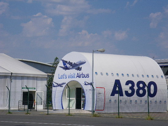 Toulouse France Airbus Airbus Factory Tour Toulouse