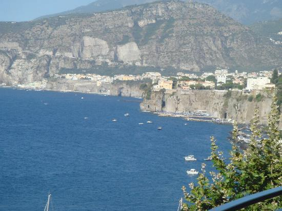 Piano di Sorrento, Italy: view