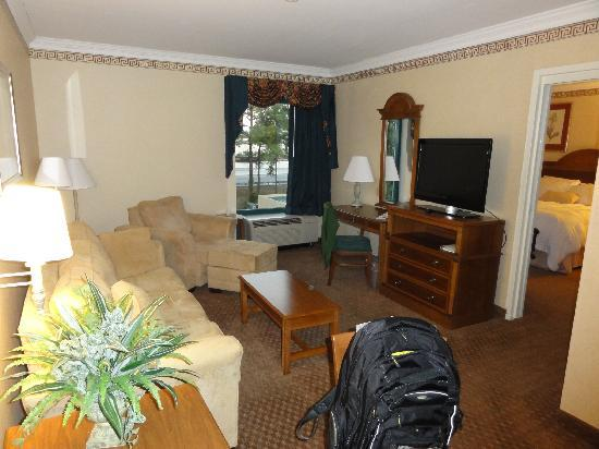 Hampton Inn Charleston North: Big room