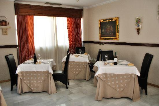 Hotel Dona Carmela : Restaurant 