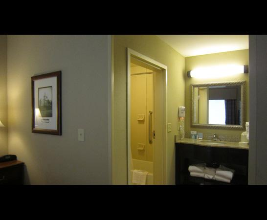 Hampton Inn & Suites Montgomery-East Chase: bathroom view 1