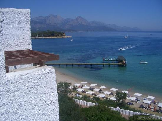 Club Med Kemer: vue de ma chambre dans les 100-200