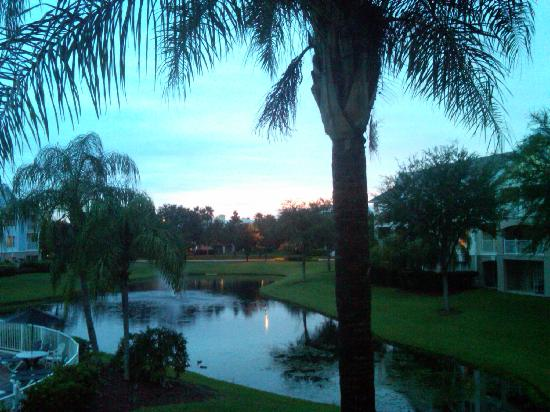 Summer Bay Orlando By Exploria Resorts: Looking out our balcony