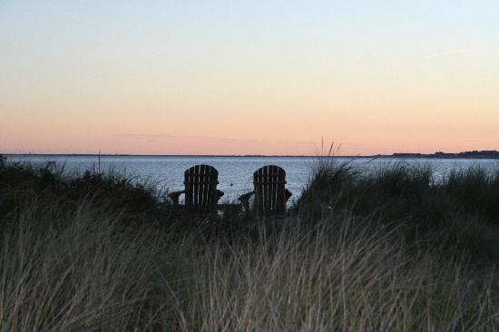 Sandbars on Cape Cod Bay: Sunset walk
