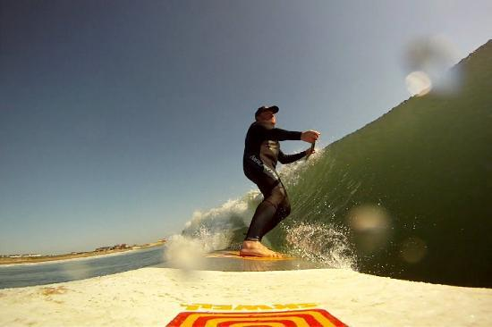 Tynemouth, UK: Instructor shows us how it's done