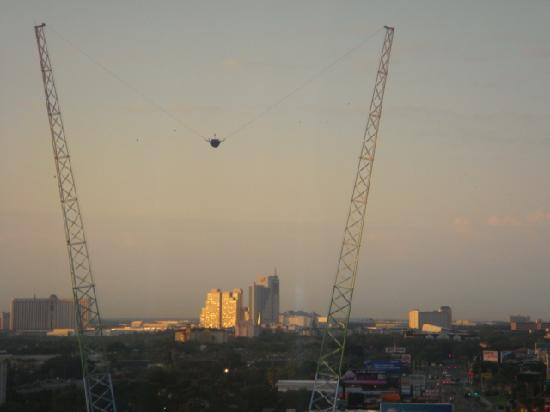 View From Our Room Of Sling Shot On I Drive Picture Of