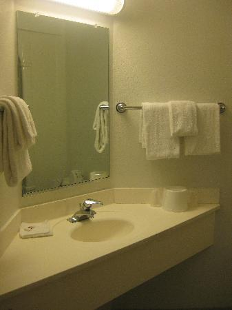 Motel 6 Orlando International Drive: Bathroom