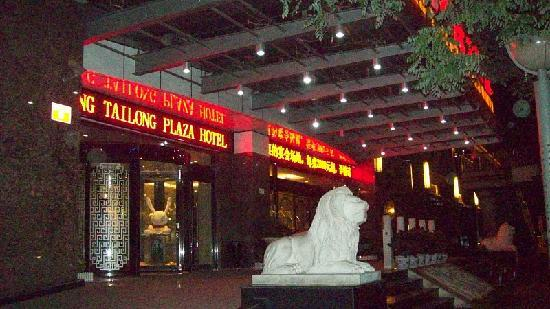 Tailong International Hotel: Front of hotel