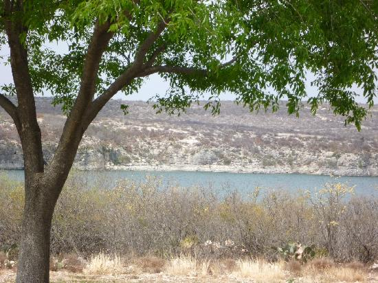 Laguna Diablo Resort: View of Lake Amistad