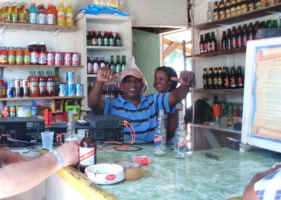 Montego Bay, Jamaika: The bar owners