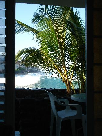 Kona Tiki Hotel: View from the room