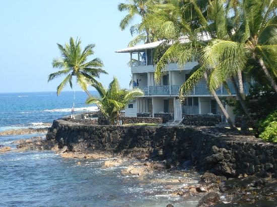 Kona Tiki Hotel: View from the bridge