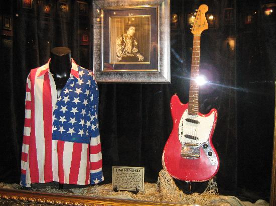 Memorabilia Picture Of Hard Rock Cafe Orlando Tripadvisor