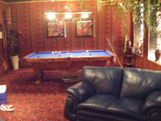 Pool table picture of mariaggi 39 s theme suites hotel and for Pool spa show winnipeg