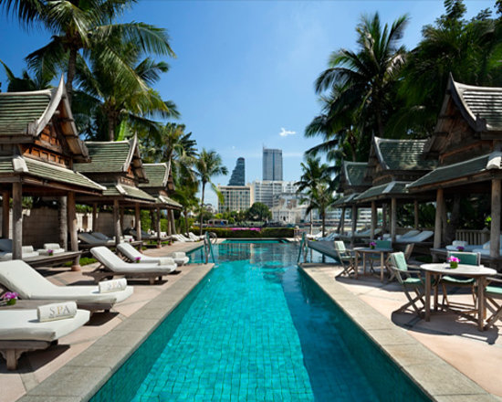 The Peninsula Bangkok : Hotel Exterior
