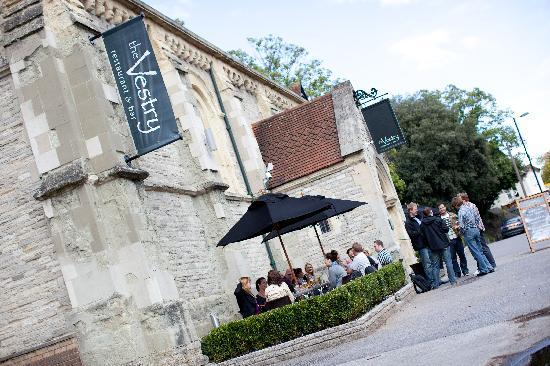 Vestry Outdoors Picture Of The Vestry Restaurant Amp Bar