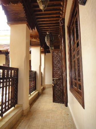 Riad Kniza: doors