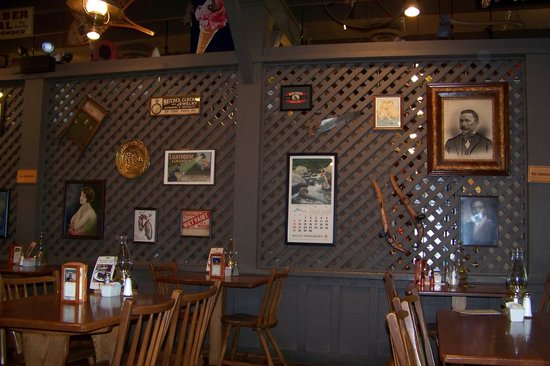 typical cracker barrel decor picture of cracker barrel