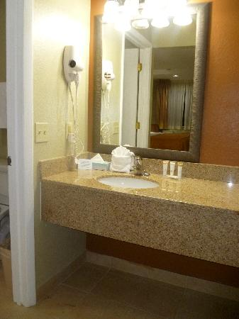 Quality Inn & Suites By The Parks: Bathroom