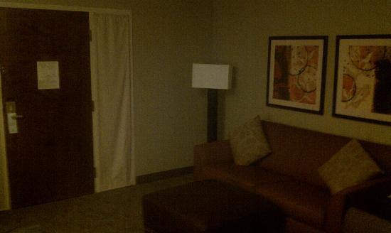 Embassy Suites Hotel Columbus: Living Area