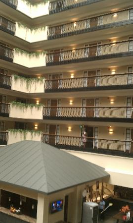 Embassy Suites Hotel Columbus: Atrium Area
