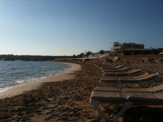 San Francisco Javier, Spagna: The beach
