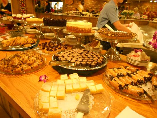 Nordic Lodge's Dessert Table - Picture of Nordic Lodge, Charlestown - TripAdvisor