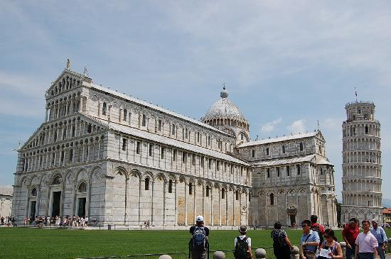 Grand Hotel Continental: Church and Leaning Tower - Pisa-Italy