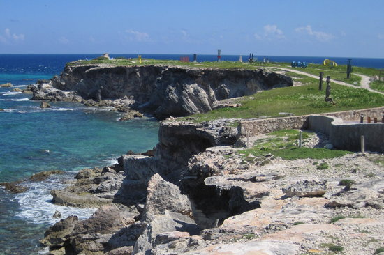 Isla Mujeres, Mexico: View at Punta Sur