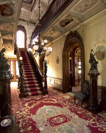 Victoria mansion portland me address phone number for Victorian house interior designs