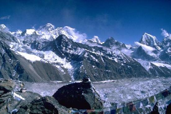 Sagarmatha National Park, Nepal: Mount Everest from Gokyo